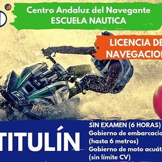 """Navegación Básica para Socorristas Acuáticos; Obtención """"Licencia Oficial Navegante"""""""""""