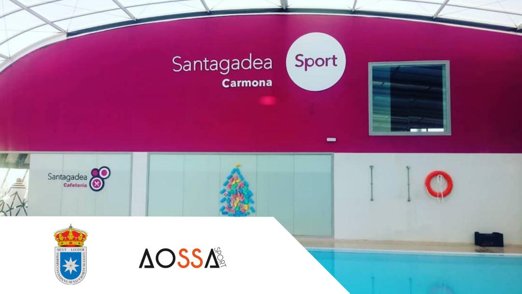 piscina municipal de Carmona