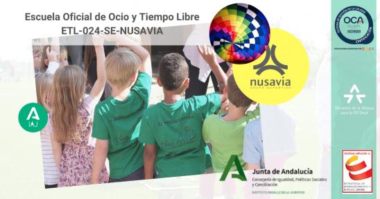 Monitor Escuela Oficial de Ocio y Tiempo Libre ETL-024-SE-NUSAVIA